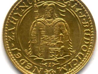 Zlatá mince - svatováclavský dukát